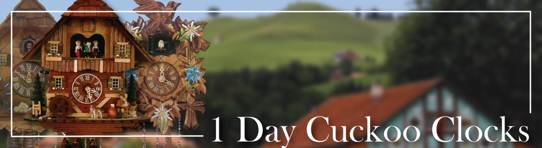 1-Day Cuckoo Clock